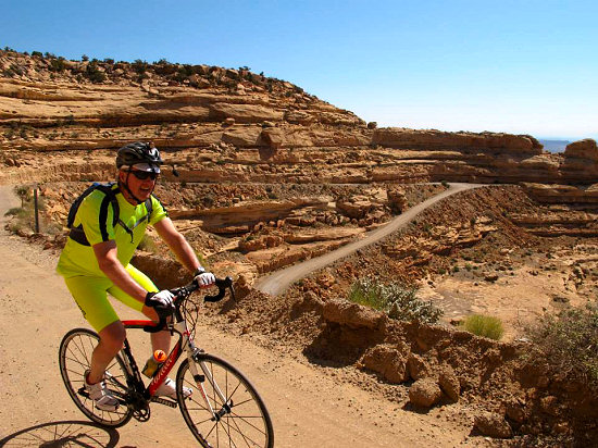 Moki Dugway Ascent: 2.8 miles and 1,100-fet on dirt